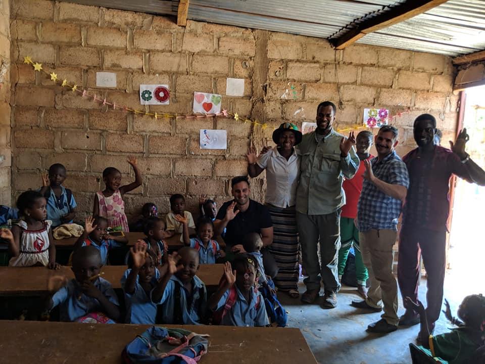 Giselle's School for OrphanedChildren in Burkina Faso West Africa